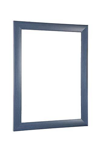 NiRa35-Top Cadre Photo 50x70 cm en Couleur Bleu Ardeuse avec Verre Acrylique antireflet