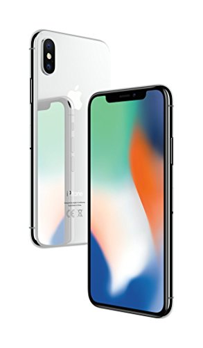 "Apple iPhone X, 5,8"" Display, 64 GB, 2017, Silber"