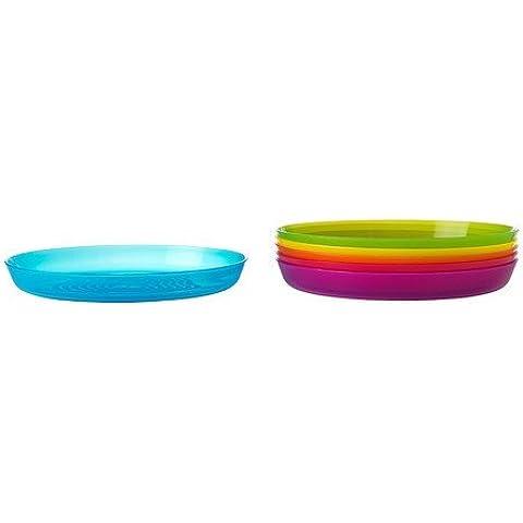 Ikea - Platos infantiles menús kalas infantil en el pack 6 - adecuado para microondas y lavavajillas
