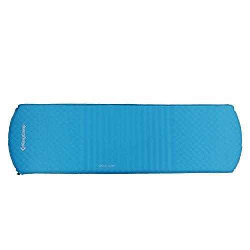 SEMOO Matelas Oreiller Auto-Gonflable Parfait Aller de Camping imperm/éable Isolant 183 x 57 x 3 cm Tapis de Sol Coussin soupape autogonflable PVC 190T
