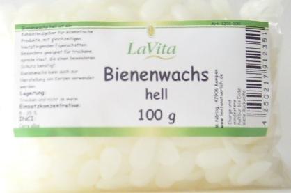 Lavita Bienenwachs hell 100gr