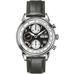 Bulova Accutron Men's Gemini Series Mechanical Strap Watch - 63C011