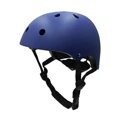 Sborter Kinderschutzhelme Kinder Fahrradhelm für Skates Skateboards Roller Snowboarden Skifahren Bikes Trikes Radfahren Reiten Spielzeug Outdoor Sports, Passen Kopf...