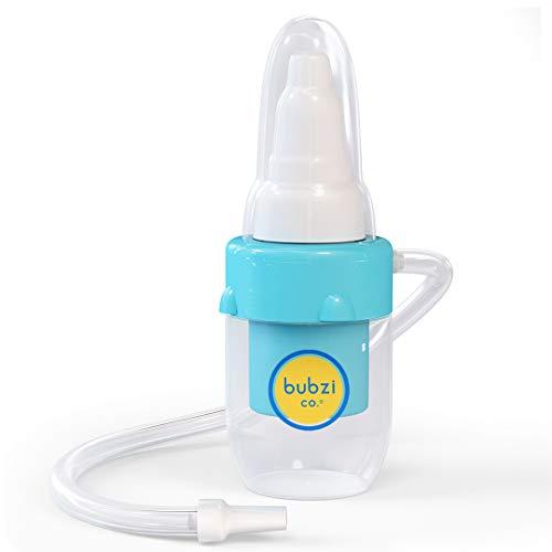 Bubzi Co Aspirador nasal de bebé para alivio de la congestión nasal...