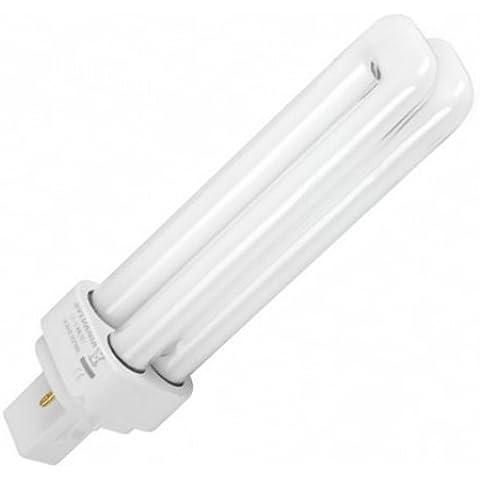 Bombilla para downlight de 2 Pin PL 13W G24d1 luz blanca día 6400k