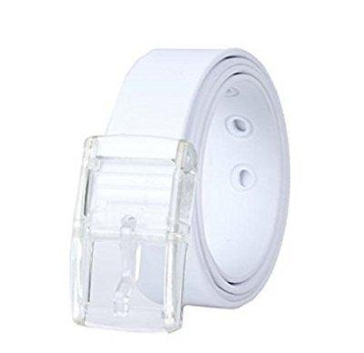 Bravehope Fashion Leisure Cintura Cintura Silicone Senza Metallo Candy Colore Cintura 1PC 120