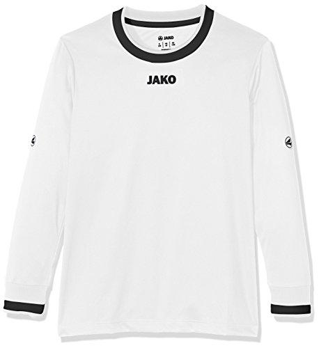 Jako maglia la United calcio, Maglietta per bambini Bianco / nero mélange / grigio