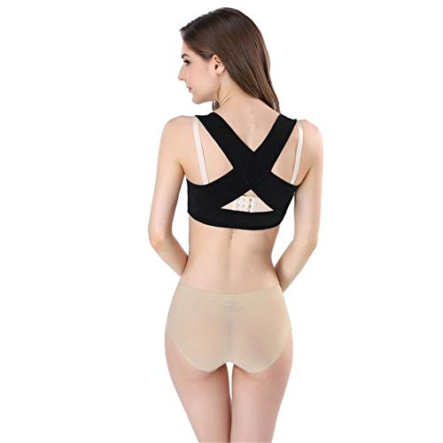 Haltung-support-weste (AXAXA Rückenstütze Weste Top Bra Körperhaltung Korrektor Für Frauen Push Up Brust Buckel Korrektur Gürtel Shapewear Buckel Körperhaltung Korrektor)