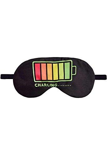 Schlafbrille Fullprint Maske Akku Aufladen Batterie Battery Charging Schlafmaske Brille Augenmaske Augenbinde Sleep Eye Mask Schlafhilfe