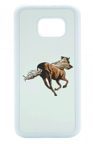 31Dc97K88iL BEST BUY UK #1Smartphone Case in Horse Design Galoppiert Running Equestrian Riding Leisure Hobby Mustang Stallion Case Cover For Apple iPhone 44S 55S 5°C 66S, 7Edge & Samsung Galaxy S4, S5, S6, S6, S7, S7Edge Huawei HTC–Fun Kult Fashion Christmas Easter Gift Idea price Reviews uk