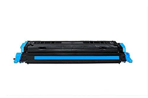 QUADROPRINT Toner ersetzt HP Q6001A 124A Cyan, ca. 2.000 Seiten, für HP Color Laserjet 1600 2600 2605, Color Laserjet cm 1000 1015 1017, Laserjet CP 2600 DN DTN MFP N Series -
