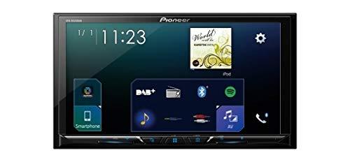 Pioneer SPH-A900DA230DAB 17,8cm (7Pollici) Touch Screen Dab Moniceiver con Apple carplay e Android Auto con Funzionalità Bluetooth Nero