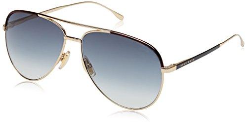 BOSS Hugo Herren 0782/S UA 1PW Sonnenbrille, Gold Blackmt/Grey Sf, 60