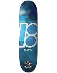Plan B Prism Felipe Plateau de Skateboard Mixte Adulte, Multicolore
