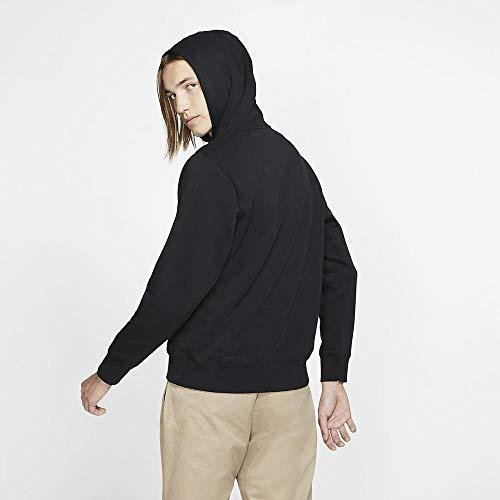 Nike Herren M NK SB ICON Hoodie PO ESSNL Sweatshirt, Black/White, M