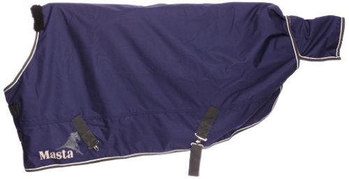Masta Chrom - 170 für Regendecke foal Blau Blau - Königsblau 4'3 Ft Preisvergleich