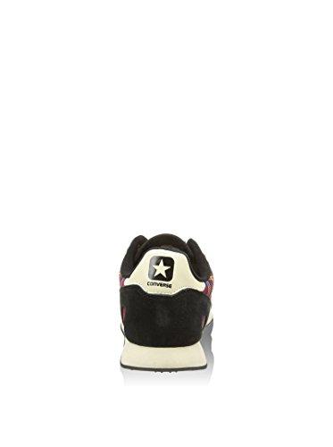 Converse Auckland Racer Ox Txt/Suede, Baskets Basses Mixte Adulte Multicolore (tartan rouge / noir)