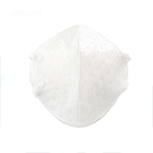KANJEKANLE wiederverwendbare Anti-Verschmutzung, antibakterielle Masken, Staub atmungsaktiv waschbar Anti-Formaldehyd, Rauch Atemschutzmasken, mit verstellbaren elastischen Gurtel, elektrostatische Baumwolle Material, (Werden Prominente Halloween Für)