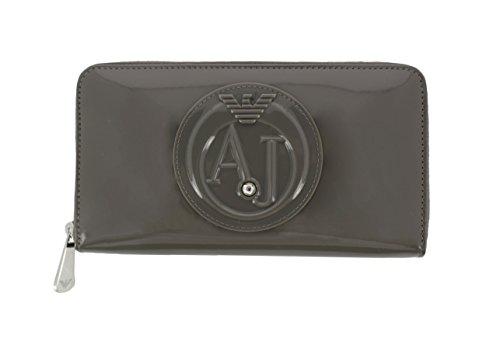 Armani Jeans 928532 CC855 07753 portafogli grigio tortora