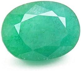 StoneZone Jaipur Natural 5.25 ratti Panna/Emerald Gemstone with Hallmarked Certificate