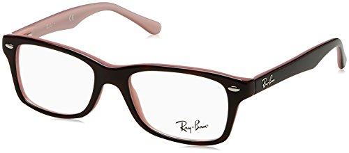 Ray-Ban Unisex - Erwachsene Brillengestell RY1531, Braun (Top Havana On Opal Pink),