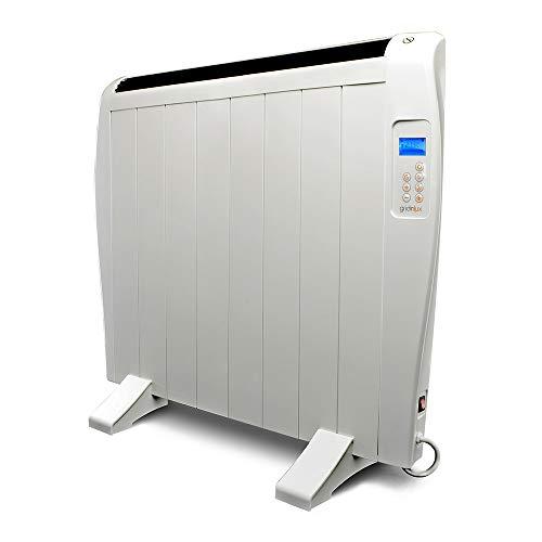 Gridinlux. Homely Atmosphere 1200W. Emisor Térmico, Radiador Eléctrico, 8 Elementos, 3 Modos, Mando...
