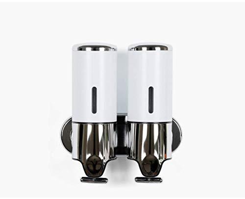 Wandhalterung Seifenspender, 2X500ml Für Hotel Home Badezimmer Küche Dusche, Seife/Shampoo/Lotion Dispenser-Gold -