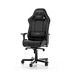 DXRacer (the original) King K06 gaming chair for PC, ergonomic desk chair in imitation leather, black