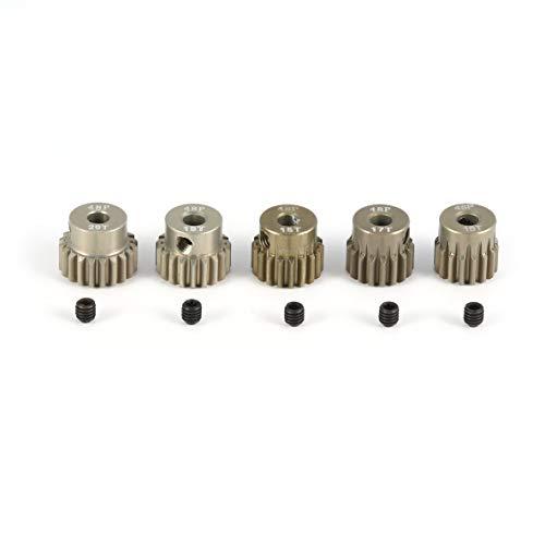 Surpass-hobby 48DP 5 Stücke 3,175mm 16 T 17 T 18 T 19 T 20 T Metall Ritzel Motor Getriebe Combo Set für 1/10 RC Auto Gebürstet Brushless Motor