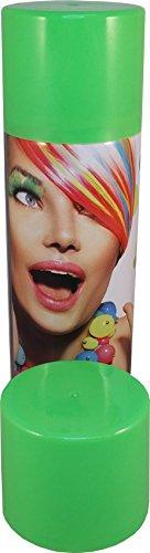 Color Haarspray 250ml | 7 Farben | Haarfarben Fasching Karneval Halloween farbig (Grün)