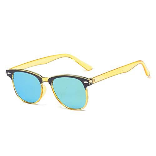 GJYANJING Sonnenbrille Neue Reisnagel Sonnenbrille Frauen Reisen Brille Oval Niedliche Dame Sonnenbrille Uv400
