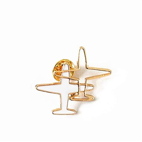 Toporchid Streifen Emaillierte Flugzeug Brosche Pins Oder Anstecknadeln Für Männer Oder Frauen (Style4)