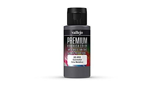 Vallejo (Premium Color 60ml Paint gunmetal