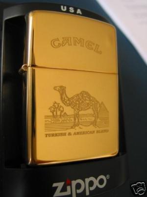 Zippo Feuerzeug Camel Turkish brass