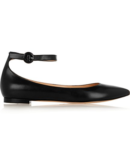 Shoemaker's heart semplice moda Scarpe Casual All-Match Scarpe Nero scarpe piatte Thirty-seven