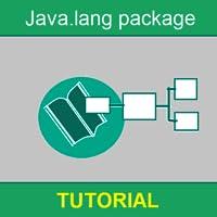 Java.lang package tutorial