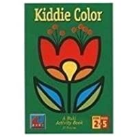 Kiddie Color A Buki Activity Book by Poof Slinky