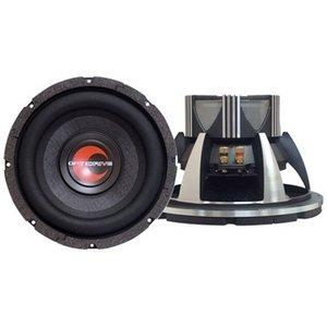 Lanzar OPTI1234D Optidrive Dual - Subwoofer con cono in fibra di carbonio intrecciata (30,5cm/12'', 4Ohm)