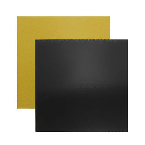 Wisamic Cama de cristal para impresoras 3D - cama de calor de 220 x 220 x 3 mm de vidrio templado...