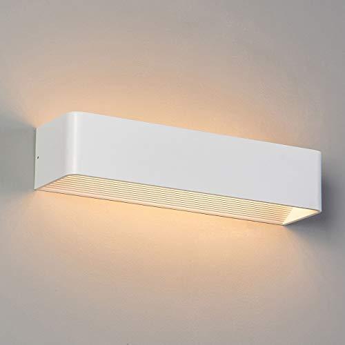 Applique murale LED design Quadra 12W - 37 cm KOSILUM - IP20 - Classe énergétique : A - 220/230V 50/60Hz - - 1080 lm - Blanc - Descriptif technique du luminaire :Culot de l'ampoule :LED intégrée   Nombre d'ampoules : LED intégrée   Indice de protection : IP20   Puissance :   Tension : 220/230V 50/60Hz   Poids du luminaire : 1,4 kg   Poids du colis : 1,5 kg - KOSILUM