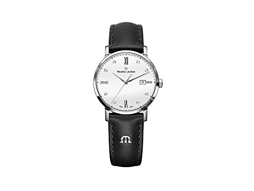 Maurice Lacroix Eliros Date Ladies Quartz watch, White, 30mm, EL1084-SS001-150-1