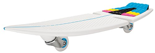 Razor Kinder Rip Surf Skateboard 2 Wheels, Teal/Orange, One Size -
