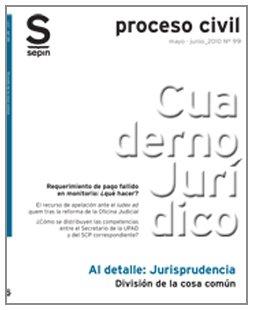 División de la cosa común (Cuaderno Jurídico Al Detalle) por Editorial Sepin