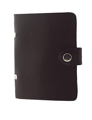 Preisvergleich Produktbild BONAMART ® PU Leder Kreditkartenetui Visitenkarte Fall Visitenkartenetui Kartenbeutel Kartenmappe mit 20-Slot Braun