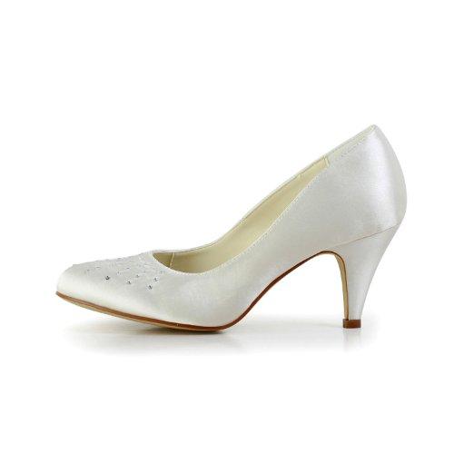Jia Jia Wedding 59494111 chaussures de mariée mariage Escarpins pour femme Beige