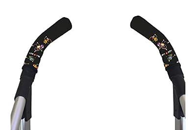 Tris&Ton Fundas empuñaduras verticales, empuñadura funda para silla de paseo cochecito carrito carro (Tris y Ton)