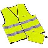 Volkswagen 000093056C18r Veste de sécurité en jaune