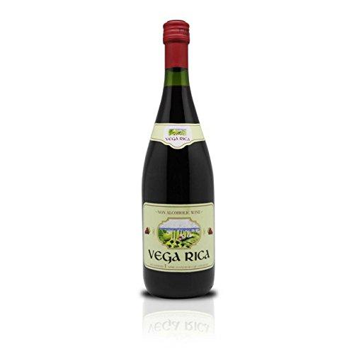 Vega Rica Non-Alcoholic Red Wine, 1 L