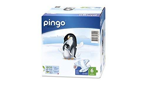 Pingo Pañales Talla 6 XL (15-30 Kg) - Caja de 2 x 32 Pañales - Total: 64 Pañales