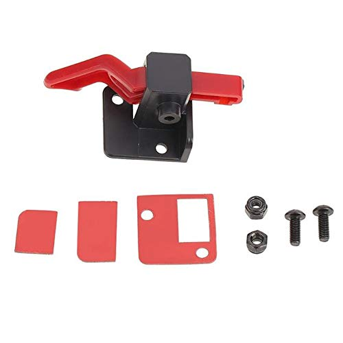 CHOULI Traxxas TRX4 Easy Start Trigger ESC Power Switch Bracket Power Transfer Black -